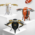 Foldable Drone with Camera Attop W5 Headless  6-Axis Gyro Quadcopter FPV HD Wifi