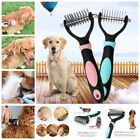 Pet Dog Grooming Brush Long Hair Fur Knot Cutter Remover Rake Shedding Comb Tool