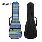 "Soprano Ukulele Gig Bag Folk Concert 21"" 23"" Uku 10mm Soft Padded Uke Bag Cases"