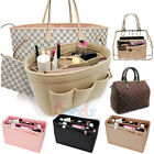 Kyпить Purse Insert Makeup Cosmetic Handbag Felt Bag Organizer With Zipper Tote Shaper  на еВаy.соm