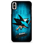 SAN JOSE SHARKS For iPhone 6/6s 7 8 Plus X /Xs Max Xr Phone Case $15.9 USD on eBay