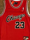 1984 Rookie Michael Jordan Chicago Bulls Red Vintage Throwback Swingman Jersey on eBay