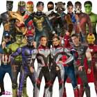 Adulto Ufficiale MARVEL 2019 AVENGERS ENDGAME Supereroe Carnival Fancy Dress