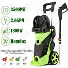 3500PSI 2.6GPM Electric Pressure Washer High Power Auto Jet Cleaner Machine Kit.