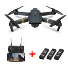 E58 Drone X Pro Foldable Quadcopter WIFI FPV with 2MP HD Camera 3 Batteries