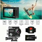 AKASO V50 Pro Action Camera Native 4K/30fps 20MP WiFi LCD Touch Screen & 32G SD