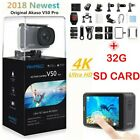 AKASO V50 Pro Action Camera Native 4K/30fps 20MP WiFi LCD Touch Screen  32G SD