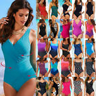 Women Bandage Monokini One-piece Swimwear Bathing Swimsuit Swimming Costume