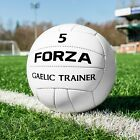 FORZA Gaelic Training Football | Natural & Synthetic Rubber GAA Footballs | 100%