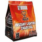 Big-K Instant Lighting Charcoal For BBQ Open Fire Outdoor Cooking Light The Bag