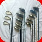 Ladies Golf Clubs, Irons, Woods, Graphite Shafts - Callaway, Wilson, Cobra, Lynx