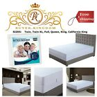 Bedding Zippered Mattress Encasement Waterproof Protector Stretchable Knit image