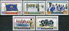 Barbados 2004. 100th Anniversary of the Cadet Corps (MNH OG) Set of 5 stamps