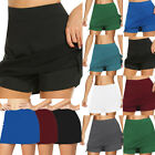 Women Summer Active Skorts Skirt  Sorts Running Tennis Golf Workout Sports New