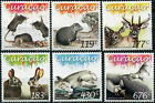 Curaçao. 2015. Fauna. Mammels (MNH OG) Set of 6 stamps