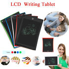 8.5/10/12In LCD Electronic Writing Tablet Digital Kids Drawing Handwriting Pad