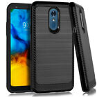 For Lg Stylo 4/stylo 5 Case Shockproof Hard Hybrid Rugged Slim Cover+ Screen