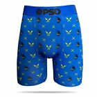 PSD Ninja Pattern Blue Athletic Urban Mens Boxer Briefs Underwear NC31811010