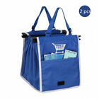 Foldable Shopping Handle Bags Reusable Fabric Carrier Grocery Grab Bag Pouch US