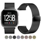 For Fitbit Versa Lite Milanese loop Stainless Steel Watch Strap Band