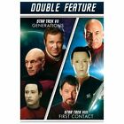 Star Trek VII & VIII Generations & First Contact Double Feature (DVD) NEW on eBay