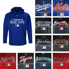 MLB Big & Tall Men's Pull Over Majestic Hoodie - Multiple Teams Available! on Ebay