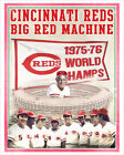 Cincinnati Reds - Big Red Machine - poster print on Ebay