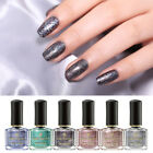 BORN PRETTY 6ml Glitter Nail Polish Holographic Shining Colors Nail Art Varnish