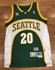 Seattle Supersonics Gary Payton Adidas Swingman Jersey