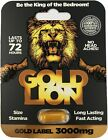 GOLD LION Pills Supersale! - 3000 mg - Fast acting men sexual stamina enhancer $6.95 USD on eBay