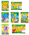 CRAYOLA COLOURING BOOKS - Kids Activity Paint Drawing  Puzzles Games FUN FULL