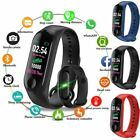 Fitness Tracker Smart Band Watch Bracelet Wristband Blood Pressure HeartRate M3