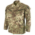 Authentic Italian Army Vegetato Camo Field Jacket RipStop Fabric Made in Italy