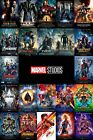 All 22 Marvel MCU Movie Poster On One Poster Canvas Or Photo 24X36 20X30