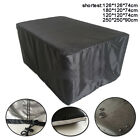Patio Outdoor 4/6/8 Seater Furniture Cover Garden Table Shelter 210d Waterproof