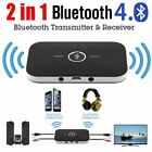 Bluetooth V4.0 Transmitter Wireless A2DP Audio RCA to 3.5mm Aux USB Adapter Hub