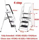 3 4 Step Ladder with Handrail Safety Tread Ladder 2 Step Small Ladder Used Stool