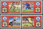 Barbados 2004. 100th Anniversary of FIFA (MNH OG) Set of 4 stamps
