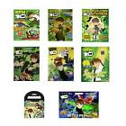 BEN 10- Colouring Stickers Activity Packs/Pads Kids Party Gift Xmas