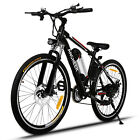 Ancheer 26'' Electric Bike EBike Mountain Bicycle Cycling Classical 21Speed 250W