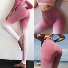 Women High Waist Yoga Pants Seamless Leggings Sport Gym Fitness Stretch Trousers
