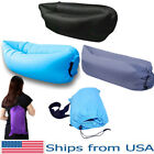 Inflatable Couch Portable Lazy Sleeping Sofa Outdoor Air Lounger Camping Bed