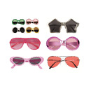 PARTY SUNGLASSES - Large Range of Styles & Colours - Plastic Fancy Dress Up