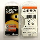 Fresh Lot 6 to 300 Duracell Activair Hearing Aid Batteries Size 13 Exp Nov 2021