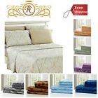 Hypoallergenic Silky Soft Luxury Bed Sheet Set Brushed Microfiber 1800 Bedding image