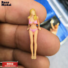 RaceMedal1:64scale figures diorama Wash car sister Lovely fat sister Gulf TSM MI
