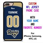 LOS ANGELES RAMS JERSEY NFL Custom Phone Case Cover for iPhone Samsung Galaxy $15.9 USD on eBay