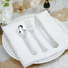 Hard Plastic SPOONS FORKS KNIVES Disposable Silverware Party Wedding Catering