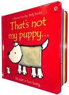 Thats not my touchy feely books Collection Fiona Watt penguin, dolly, frog, tige