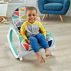 Fisher Price Infant to Toddler Rocker Child Seat Recliner Seat Pad Baby Toy Bar